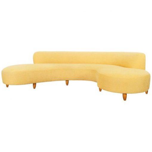 L Shape Sofa Lss - 08