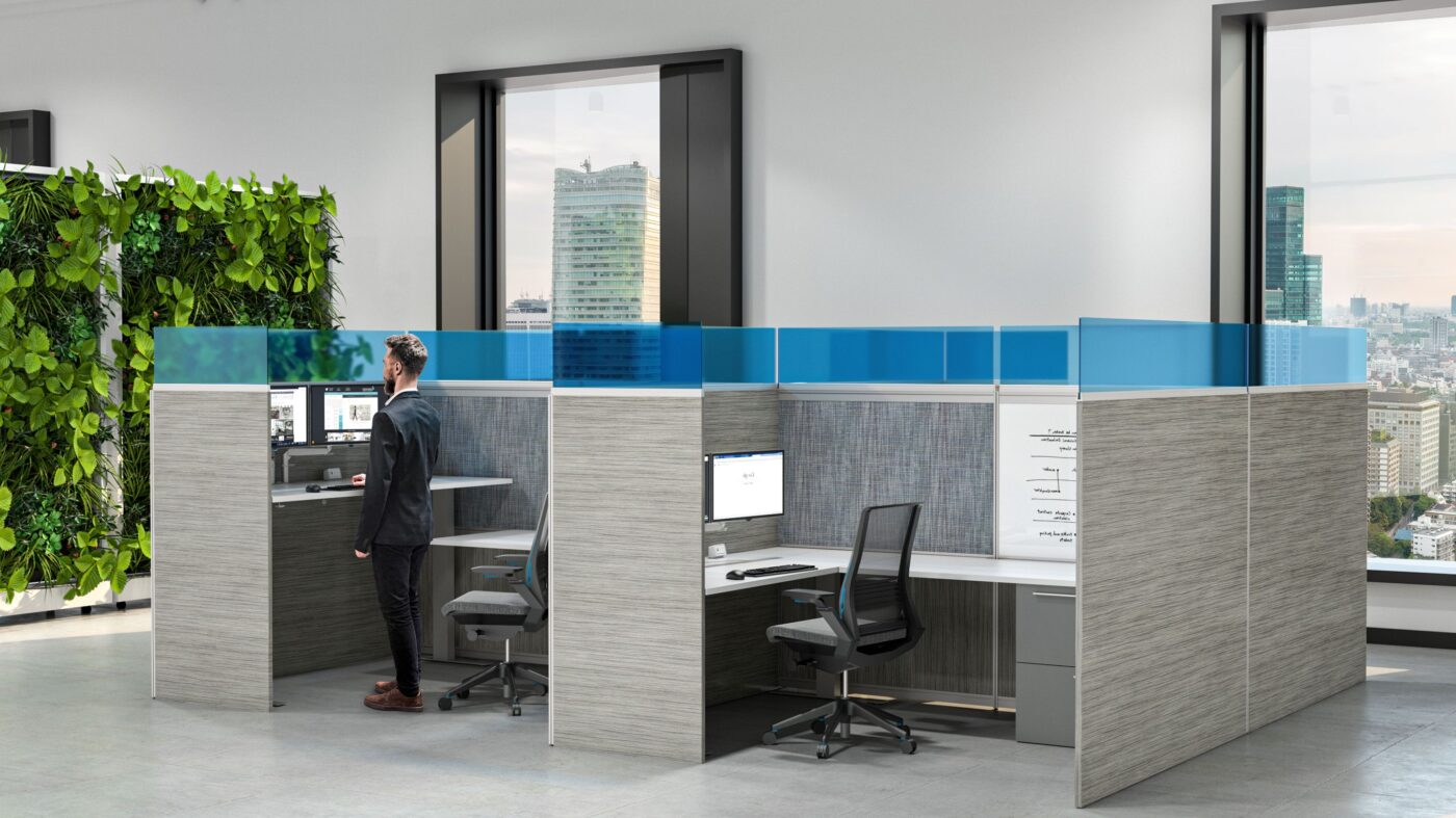 Workstation, cubicles, office partition